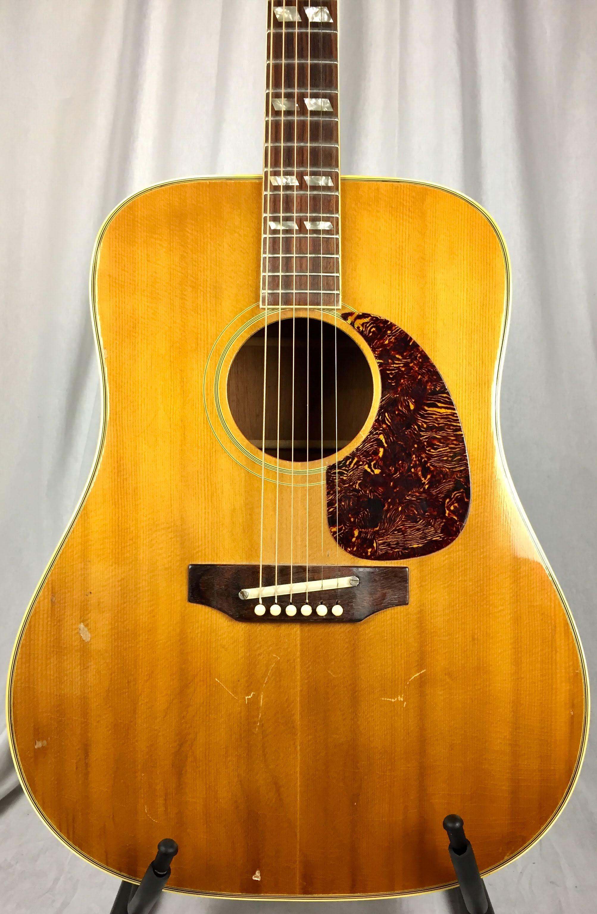 Gibson Guitars For Sale >> Vintage Guitars, SWEDEN - 1970 Gibson SJN Southern Jumbo.